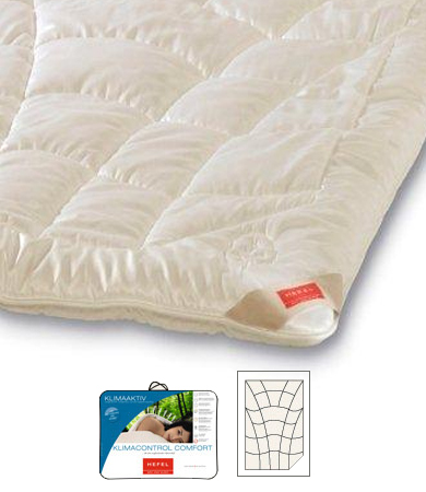 Tencel klimacontrol comfort all-seasons dekbed Hefel